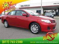 Gets Great Gas Mileage: 34 MPG Hwy! Just Arrived*** All