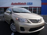 2013 Toyota Corolla Sedan LE Our Location is: AutoMatch