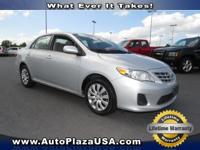 2013 Toyota Corolla Sedan S Manual Our Location is: