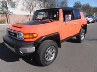 ~ 2013 Toyota FJ Cruiser ~ CARFAX: Buy Back Guarantee,
