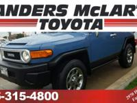 This 2013 Toyota FJ Cruiser 4WD 4dr Man is offered to