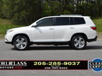 We Finance I Loaded 2013 Highlander Limited 4WD! Clean