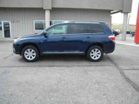 2013 Toyota Highlander Plus with 73,234 mis. This