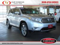 This Toyota Certified Highlander Limited is the one you