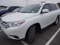 Recent Arrival! 2013 Toyota Highlander 3rd Row,