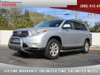 2013 Toyota Highlander 4 Cyl, *** 1 FLORIDA OWNER ***