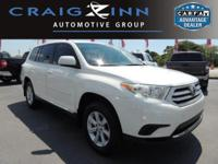 CarFax One Owner! This Toyota Highlander is CERTIFIED!
