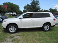 Options:  2013 Toyota Highlander Fwd 4Dr I4|Front Wheel