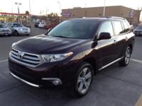 2013 TOYOTA HIGHLANDER LIMITED Our Location is: Lithia
