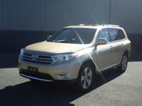 Check out this gently-used 2013 Toyota Highlander we