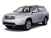 Options:  2013 Toyota Highlander Limited 4Wd|Gray/|V6