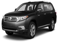 Options:  2013 Toyota Highlander Limited|Take Your Hand