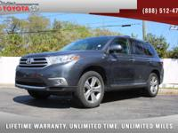 2013 Toyota Highlander Limited 4WD V6, *** 1 FLORIDA