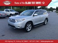 Classic Silver Metallic 2013 Toyota Highlander Limited