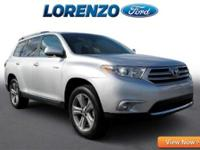 Options:  2013 Toyota Highlander Limited|Silver/|V6