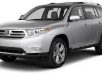 Options:  2013 Toyota Highlander Limited|**Prices Are