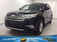 Black 2013 Toyota Highlander Base Plus V6 AWD 5-Speed