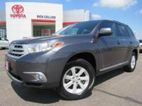 This 2013 Toyota Highlander comes equipped with power