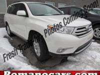 Familiarize yourself with the 2013 Toyota Highlander!