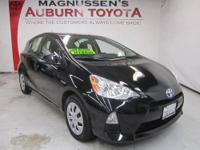 LOW MILEAGE! This 2013 Toyota Prius c Two Hatchback is