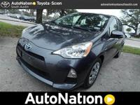 Check out this gently-used 2013 Toyota Prius c we