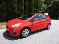 CERTIFIED PRIUS C, ONE OWNER, VERY CLEAN AND WELL