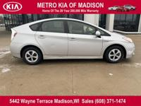 This outstanding example of a 2013 Toyota Prius Five is