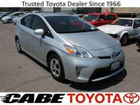 2013 TOYOTA PRIUS MODEL 4 ** CLEAN CARFAX ** ** COLOR: