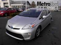 Toyota Certified and Clean Carfax. Hybrid! Save the
