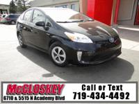 This 2013 Toyota Prius One comes with Backup Camera,