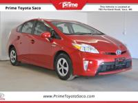 CARFAX One-Owner! Toyota Certified! 2013 Toyota Prius