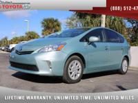 2013 Toyota Prius v Three Hybrid, *** 1 FLORIDA OWNER