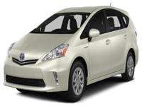 Options:  2013 Toyota Prius V Three|This 2013 Prius V