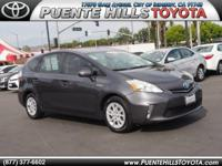 *ONE AT THIS PRICE* and previous rental. Prius v Three,