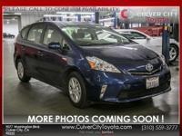 Options:  2013 Toyota Prius V Two|Blue|Toyota