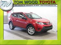 TOYOTA CERTIFIED!! RAV4 LE 4DR Sport Utility, 2.5L