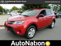 2013 Toyota RAV4 LE AWD. Now you can drive a comfy,