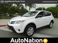 2013 Toyota RAV4 LE 4X4. Get yourself up to the snow in