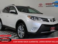 Recent Arrival! 2013 Toyota RAV4 Limited Toyota