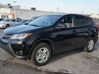 THIS 2013 TOYOTA RAV-4 IS EQUIPPED WITH ALLOY RIMS,