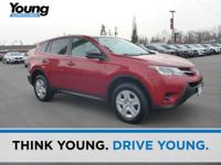 2013 Toyota RAV4 LE. AWD and Cloth. Braking with