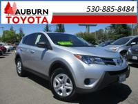 LOW MILEAGE and only ONE previous owner! This 2013 Rav4