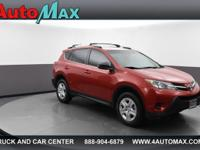 This outstanding example of a 2013 Toyota RAV4 LE is