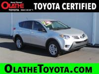 Options:  2013 Toyota Rav4 Le Awd|Silver/|V4 2.5L