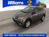 Options:  2013 Toyota Rav4 Le|Brown|Clean Vehicle