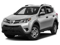 Options:  2013 Toyota Rav4 Le|>Put Down The Mouse