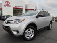 This 2013 Toyota Rav4 comes equipped with back-up