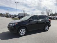 Black 2013 Toyota RAV4 LE FWD 6-Speed Automatic 2.5L