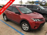 Clean CarFax and One Owner CarFax. RAV4 LE, 4D Sport