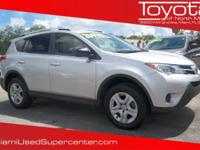 Options:  2013 Toyota Rav4 Le|Classic Silver